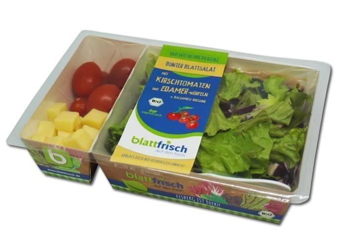LOGO_Bio Blattsalat - der Klassische - mit Edamer-Würfeln, Kirschtomaten & Balsamico-Dressing