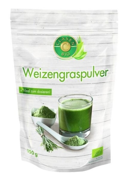 LOGO_CLASEN BIO Weizengraspulver