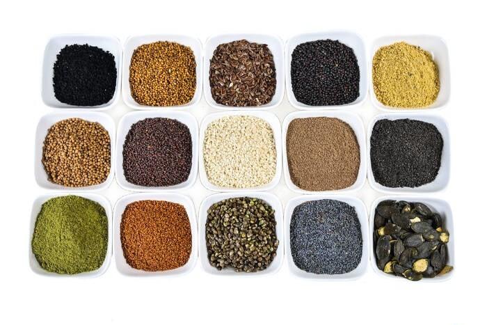 LOGO_Saaten, Nüsse und Kerne,naturbelassen