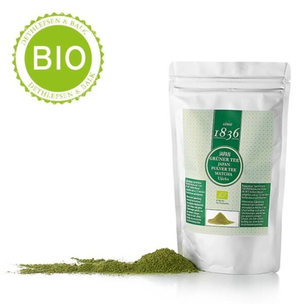 LOGO_Green tea · Japan · Matcha Ujicha from organic cultivation