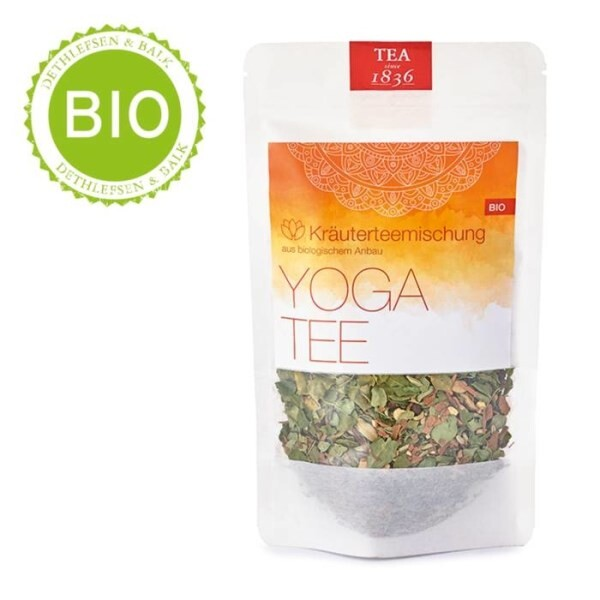 LOGO_Herb tea blend · Yoga Tea from organic cultivation (no added flavouring)