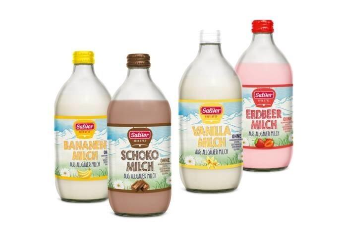 """LOGO_Saliter """"Milchmischgetränke"""""""