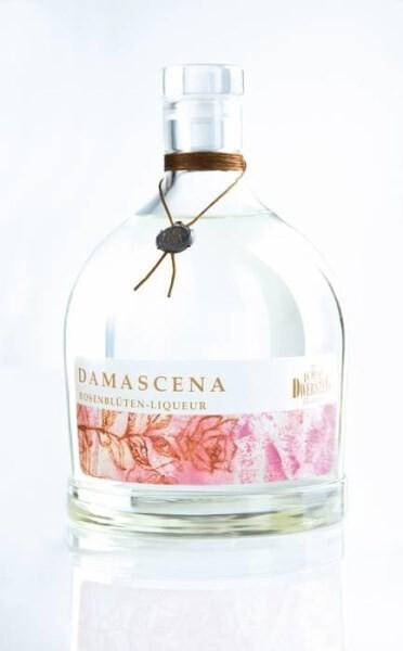 LOGO_Damascena Rosenblüten-Liqueur 33 % vol.