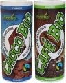 """LOGO_Organic Fairtrade Latte Macchiato """"Café Bio"""" & Organic Fairtrade Chocolate Drink """"Choco Bio"""" 230 ml"""
