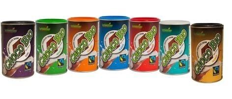 """LOGO_Bio Fairtrade Schoko Drink """"Choco Bio"""""""