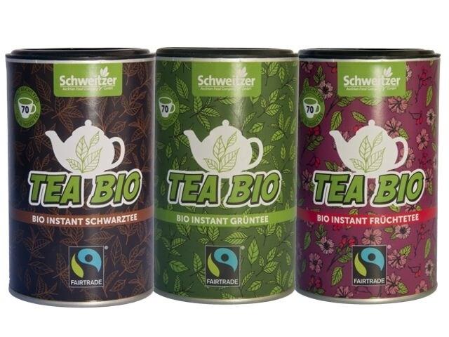 "LOGO_Organic Fairtrade Instant Tea ""Tea Bio"""