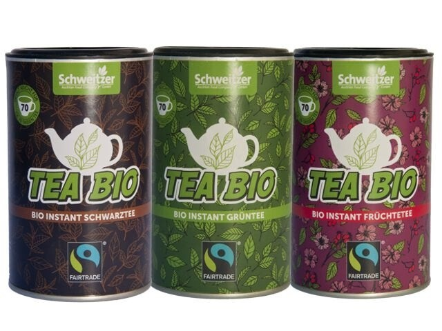 "LOGO_Organic Fairtrade Instant Tea ""Tea Bio"""