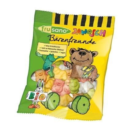 LOGO_Organic Janosch Bear Friends - without gelatine - from Frusano