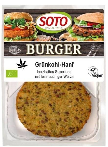 LOGO_Burger Grünkohl-Hanf  – herzhaftes Superfood mit fein rauchiger Würze –