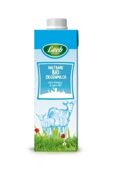 LOGO_Leeb Vital Haltbare Bio-Ziegenmilch, 0,75 l