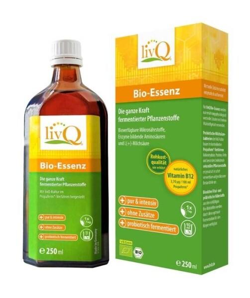 LOGO_livQ Bio-Essenz, Fermentationsprodukt in Rohkostqualität mit natürlichem Vitamin B12