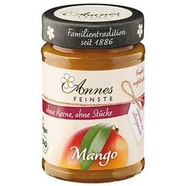 LOGO_Annes Feinste Bio Mango Fruchtaufstrich, fein passiert