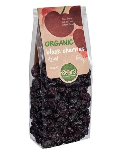 LOGO_Organic dried sweet black cherries