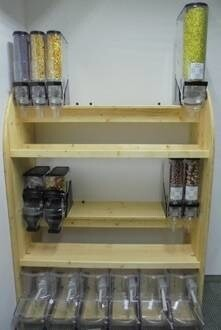 LOGO_wooden rack complete solution