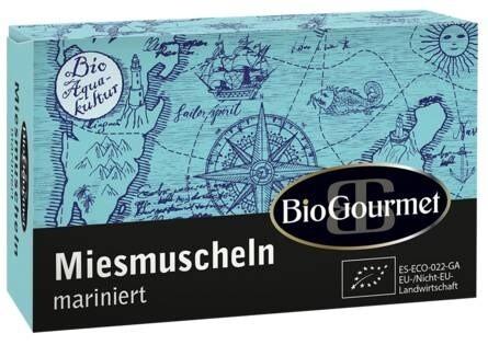 LOGO_BioGourmet Miesmuscheln mariniert