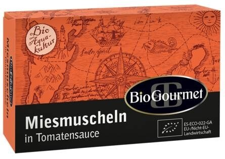 LOGO_BioGourmet Miesmuscheln in Tomatensauce