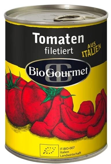LOGO_BioGourmet Tomaten filetiert in der Dose