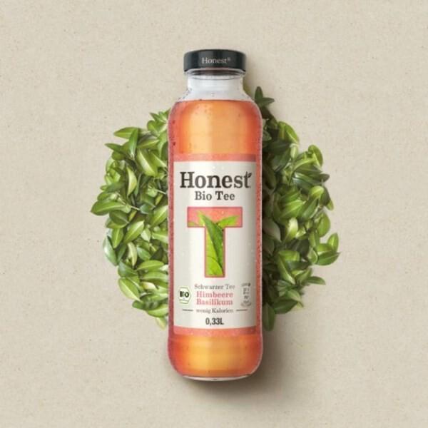 LOGO_HONEST® Bio Tea  HONEST® Bio Limonade