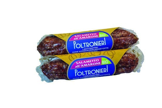 LOGO_Salametto Delicato Bio, Salami luftgetrocknet, 150 g