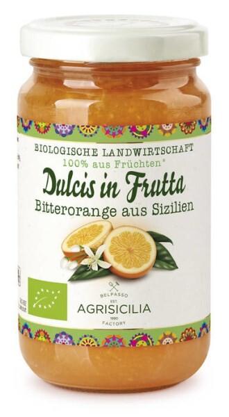 LOGO_Dulcis in Frutta, Bitterorange aus Sizilien, Fruchtaufstrich, 240 g
