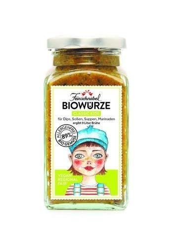"LOGO_Biowürze ""classic Kids"", weniger Salz, ohne Sellerie, 300 g"