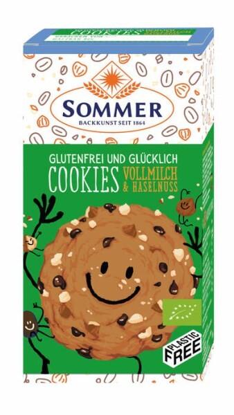LOGO_glutenfreier Cookie, Vollmilch & Haselnuss
