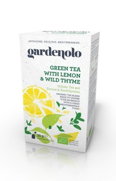 LOGO_Gardenolo Green Tea with Lemon and Wild Thyme