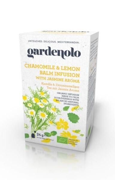 LOGO_Gardenolo Cgamomile & Lemon Balm infusion