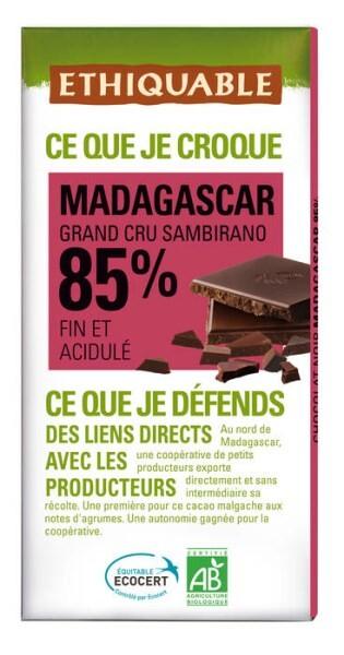 LOGO_ETHIQUABLE DARK CHOCOLATE 85% MADAGASCAR