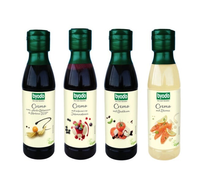LOGO_Crema with Lemon, Crema with Black Currant, Crema with Basil, Crema con Aceto Balsamico