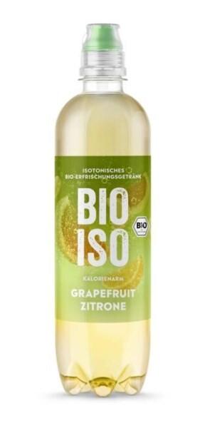 """LOGO_BIO-ISO """"Grapefruit-Zitrone"""" - Isotonisches Bio-Erfrischungsgetränk"""