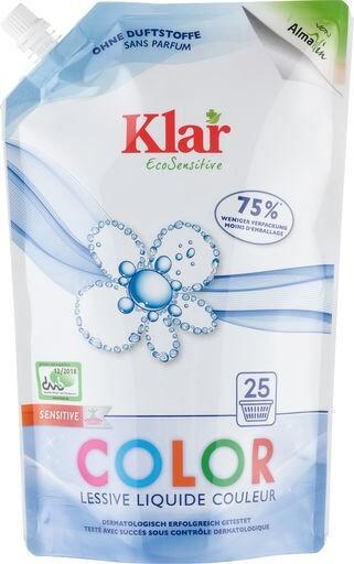 LOGO_Klar EcoSensitive Color flüssig - Öko-Pack - OHNE DUFT