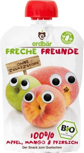 LOGO_erdbär Freche Freunde Pouch