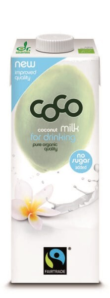 LOGO_coco milk for drinking pure fairtrade