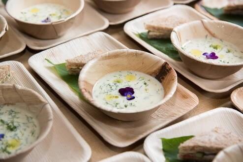 LOGO_Palm leaf tableware