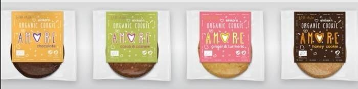 "LOGO_Organic Einkorn Cookies ""AMORE"""