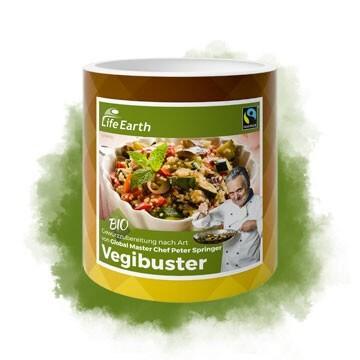 LOGO_Vegibuster, Gastro Gewürzzubereitung, Bio & Fairtrade