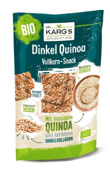 LOGO_Organic wholegrain snack Spelt & Quinoa