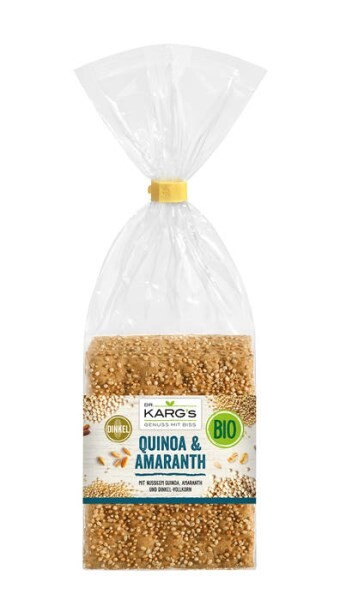 LOGO_Bio Knäckebrot Quinoa & Amaranth