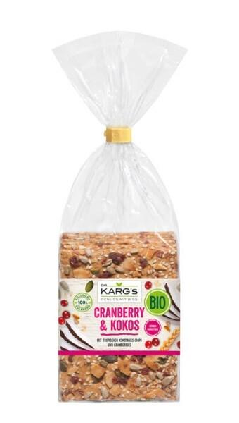 LOGO_Organic crispbread Cranberry & Coconut