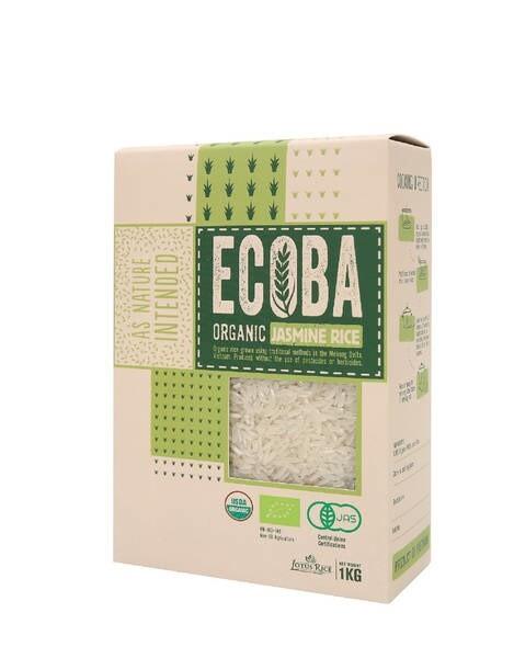 LOGO_ECOBA - Organic Jasmine Rice