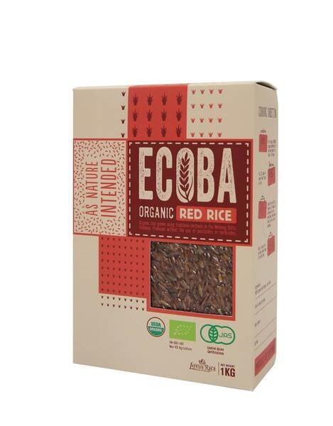 LOGO_ECOBA - Bio Roter Reis