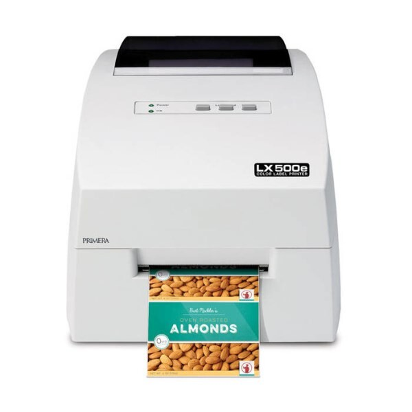 LOGO_LX500e Color Label Printer: The compact entry model - perfect for short production runs
