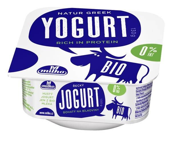 LOGO_BIO Greek yogurt, 130g