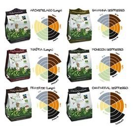 LOGO_PURO fairtrade organic biodegradable** coffee capsules
