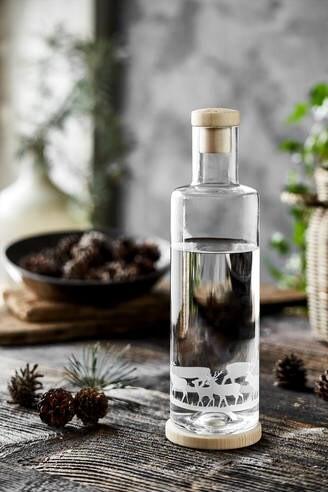 LOGO_Glass carafe deer 1.0 l