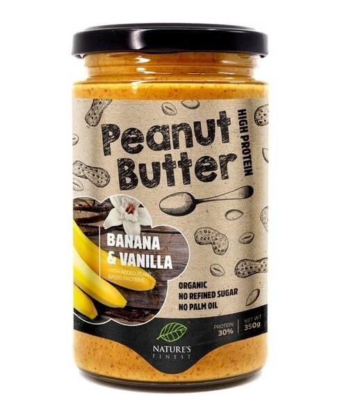LOGO_Bio Peanut butter - banana & vanilla