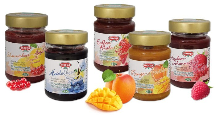LOGO_Organic fruit spreads with agave