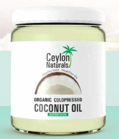 LOGO_Organic cold pressed Coconut Oil (Premium quality)