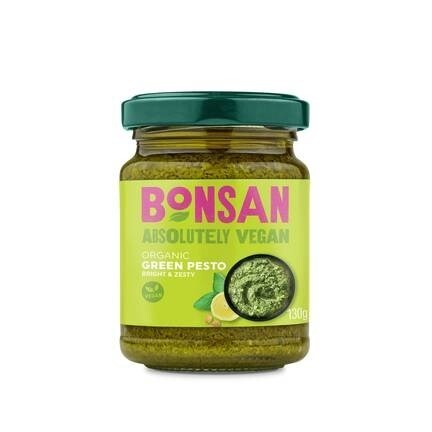 LOGO_Bonsan Organic Green Pesto - Vegan